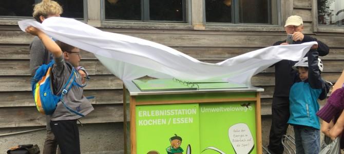 Gelungene Eröffnungsfahrt des ersten Umweltvelowegs der Schweiz