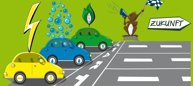 Welcher dieser Autotypen wird in Zukunft auf Schweizer Strassen fahren?